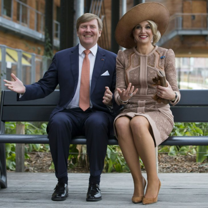 Queen Maxima and King Willem.