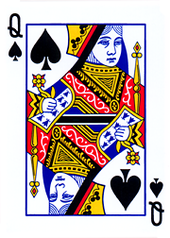 Queen of spades.