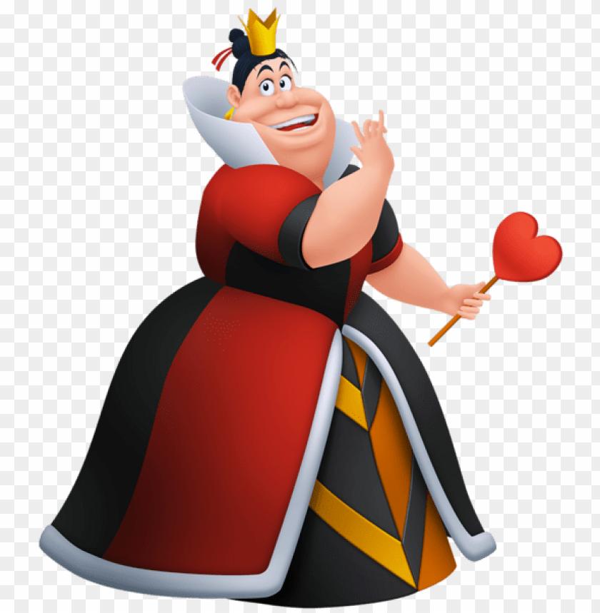 Download alice in wonderland queen of hearts clipart png.