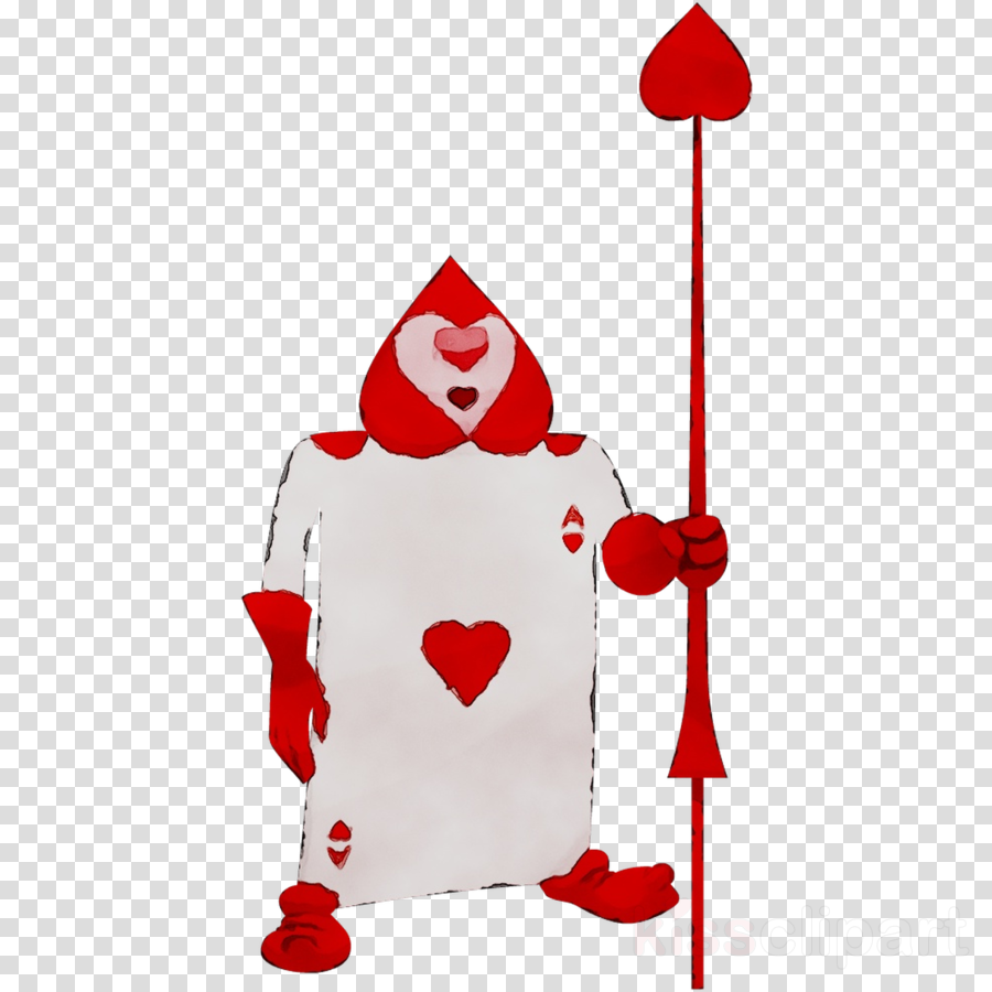 Queen Of Hearts Card clipart.