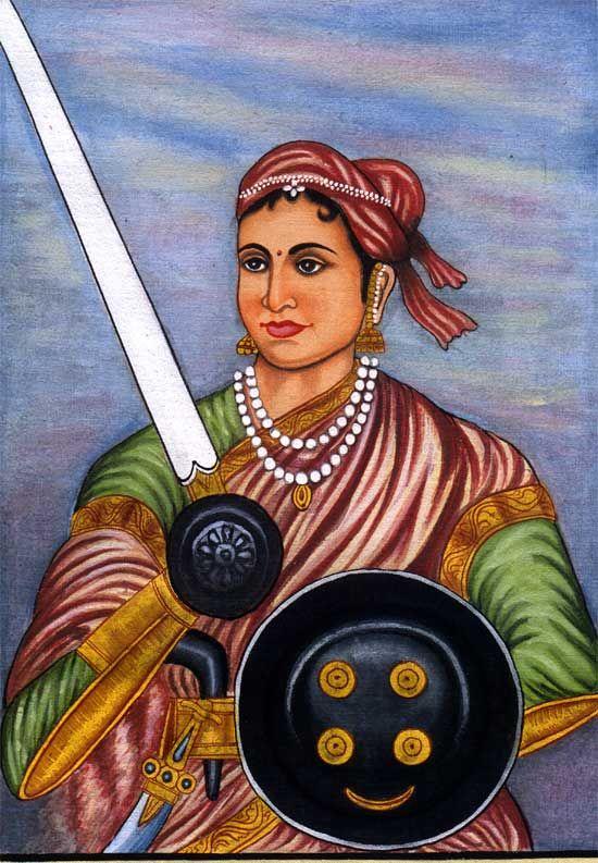 Lakshmibai, the Rani of Jhansi झाशीची राणी.