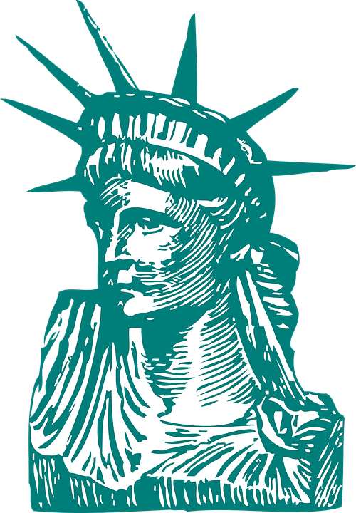 Free vector graphic: Statue Of Liberty, Liberty, Statue.