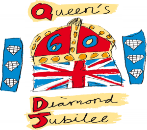 Queen Diamond Jubilee 2012.