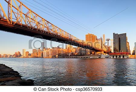 Stock Photos of Queensboro bridge.