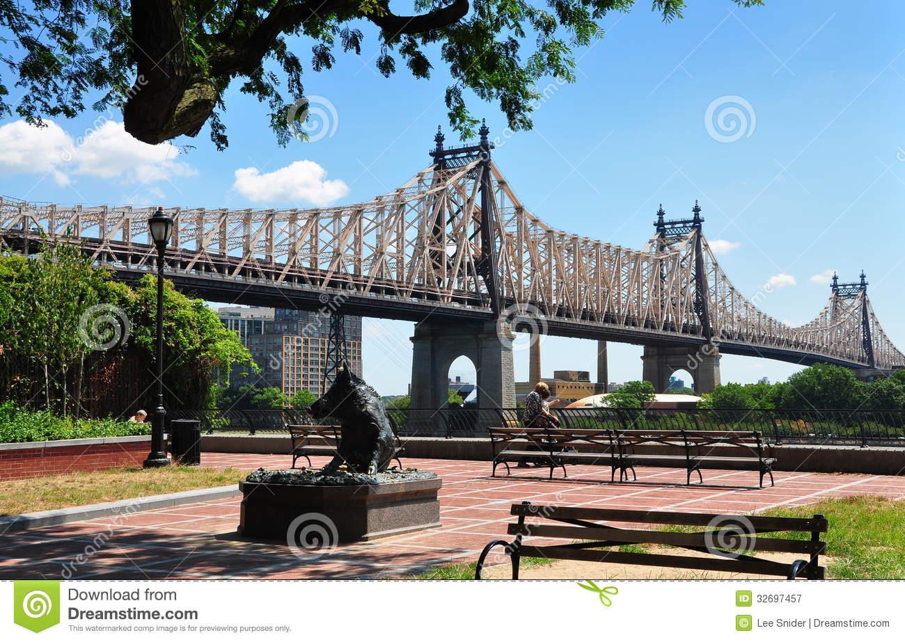 NYC: The Queensboro Bridge Editorial Photography.