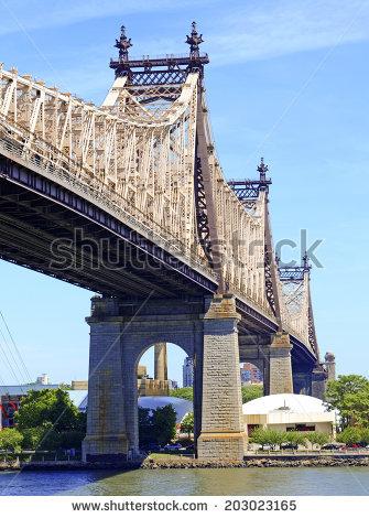 Queensboro Bridge Stock Photos, Royalty.