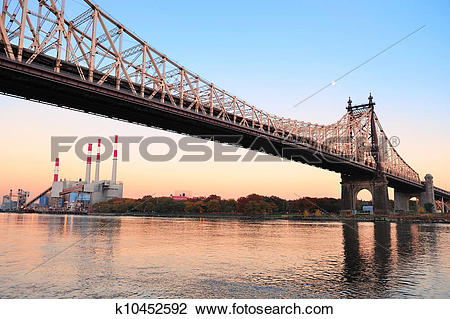 Stock Photo of Queensboro Bridge k10452592.