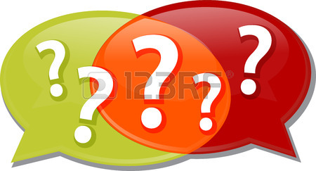 Illustration Concept Clipart Questions Queries Dialog Questions.