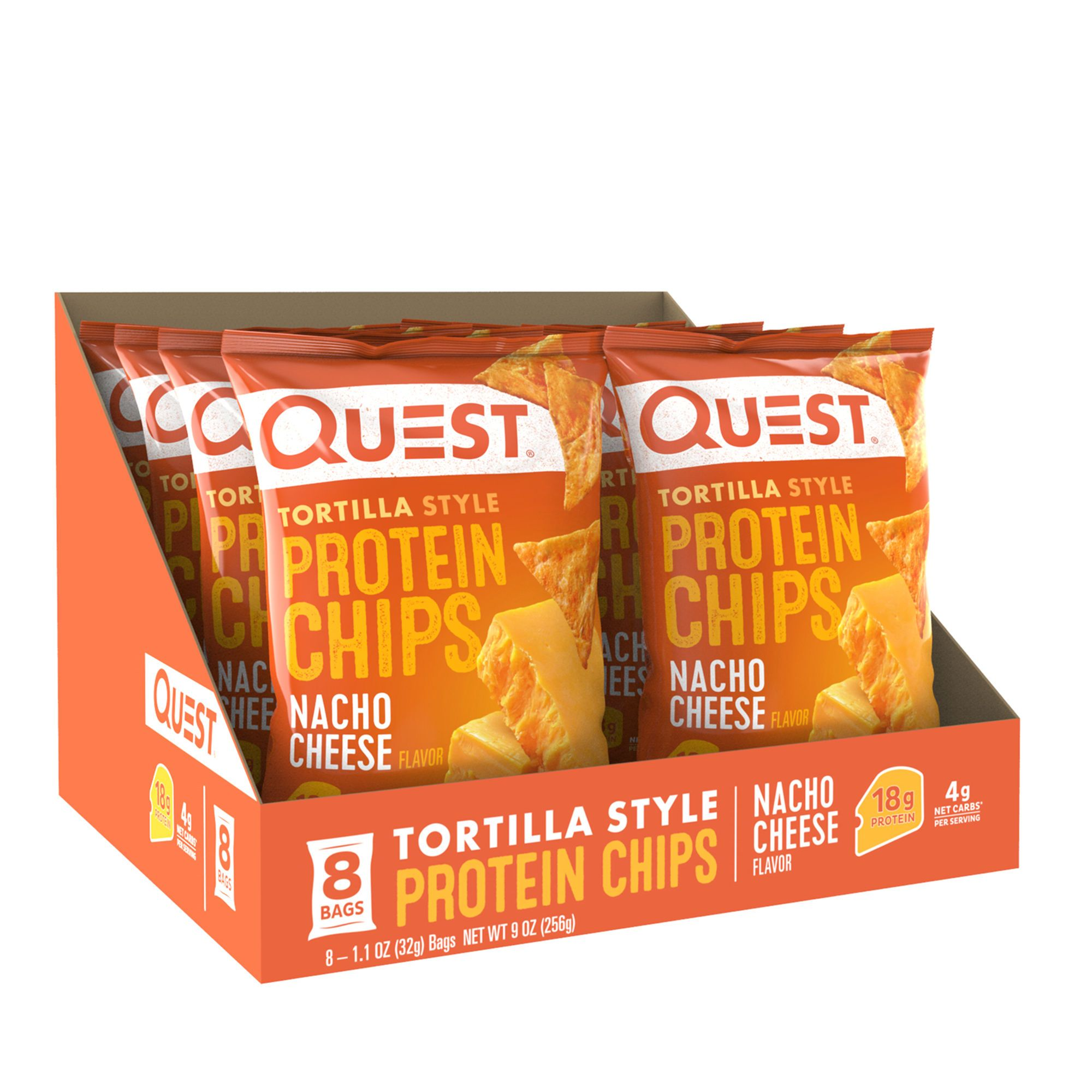 Quest Nutrition Tortilla Style Protein Chips.