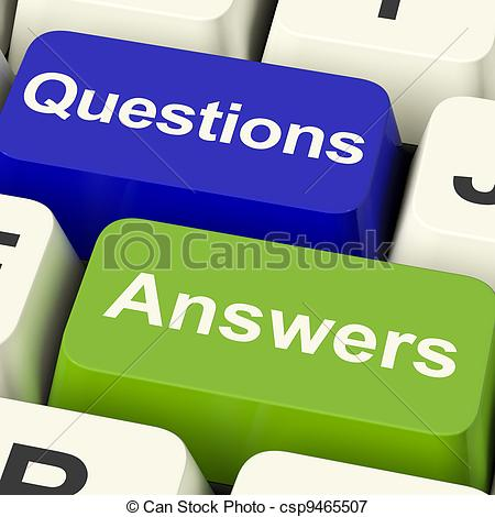 Questions Answers Clipart.