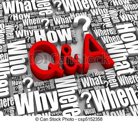 Q&a Clipart Free.