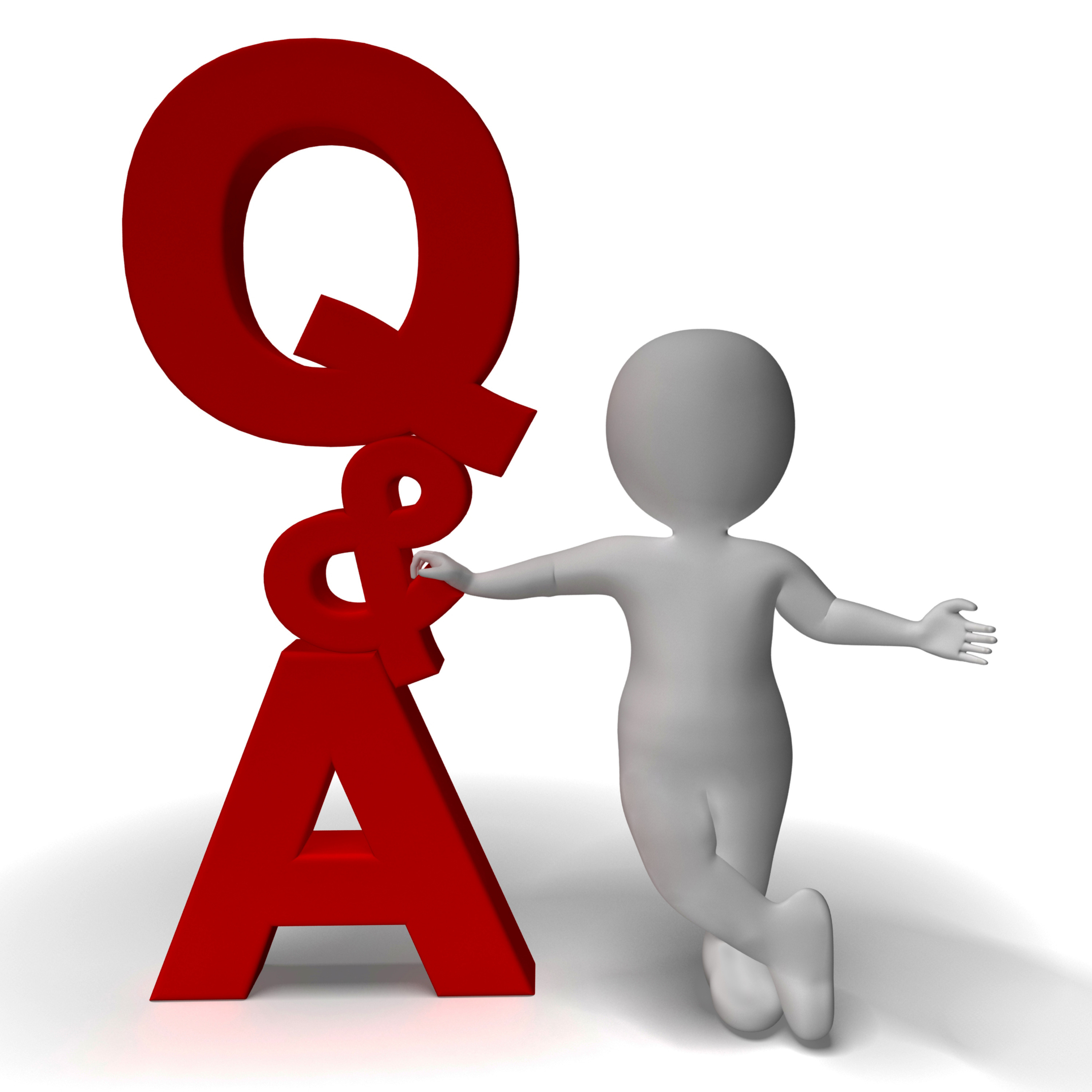 Question And Answer Clipart Free.
