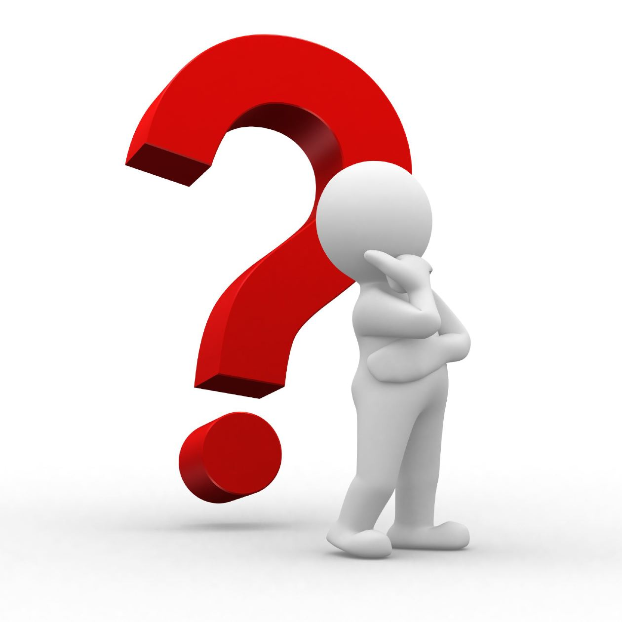 Free Clipart Person With Question Mark.