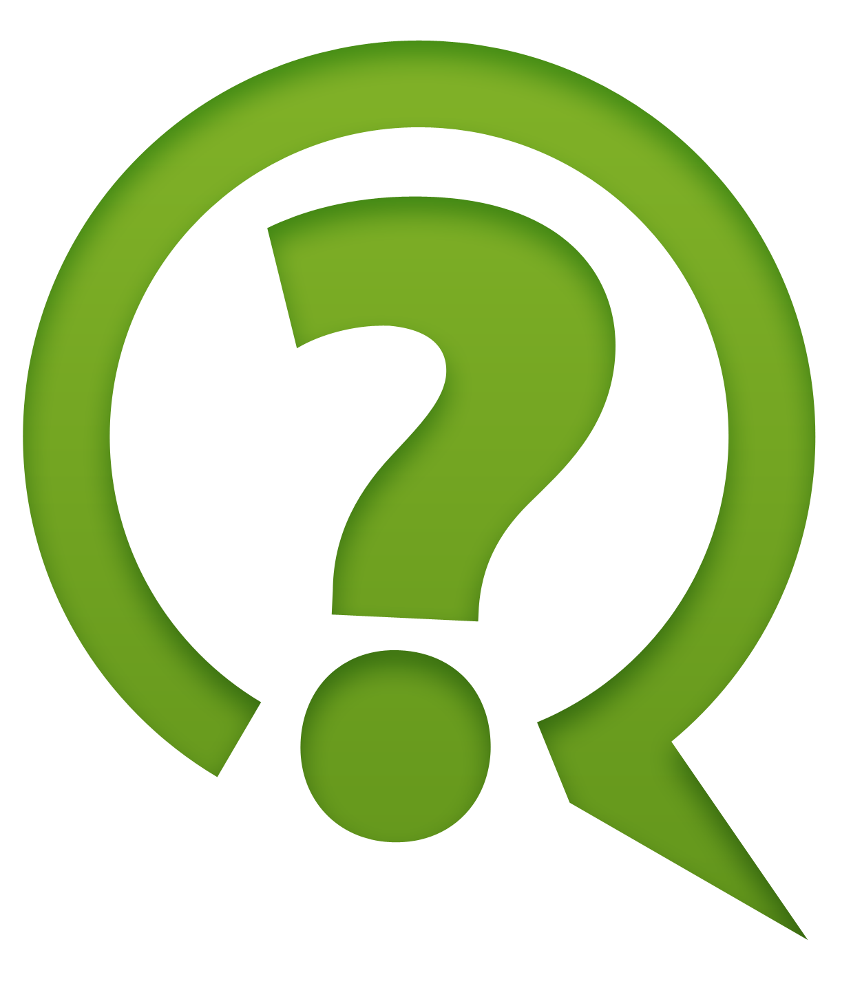 Green Question Mark Icon Png ClipArt #41640.