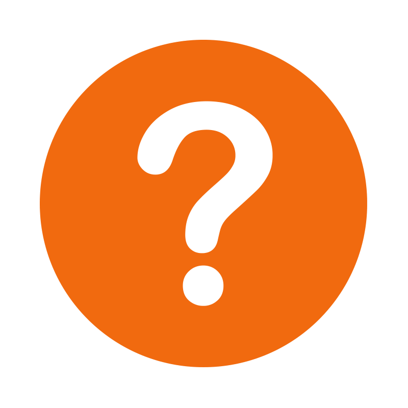Orange Question Mark Icon Png Clip Art #41653.