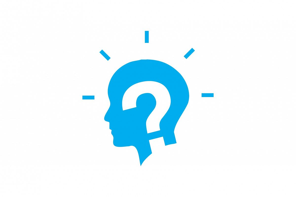 Question Man Logo.