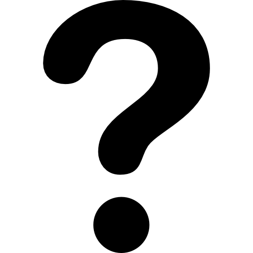 Question mark Icons.