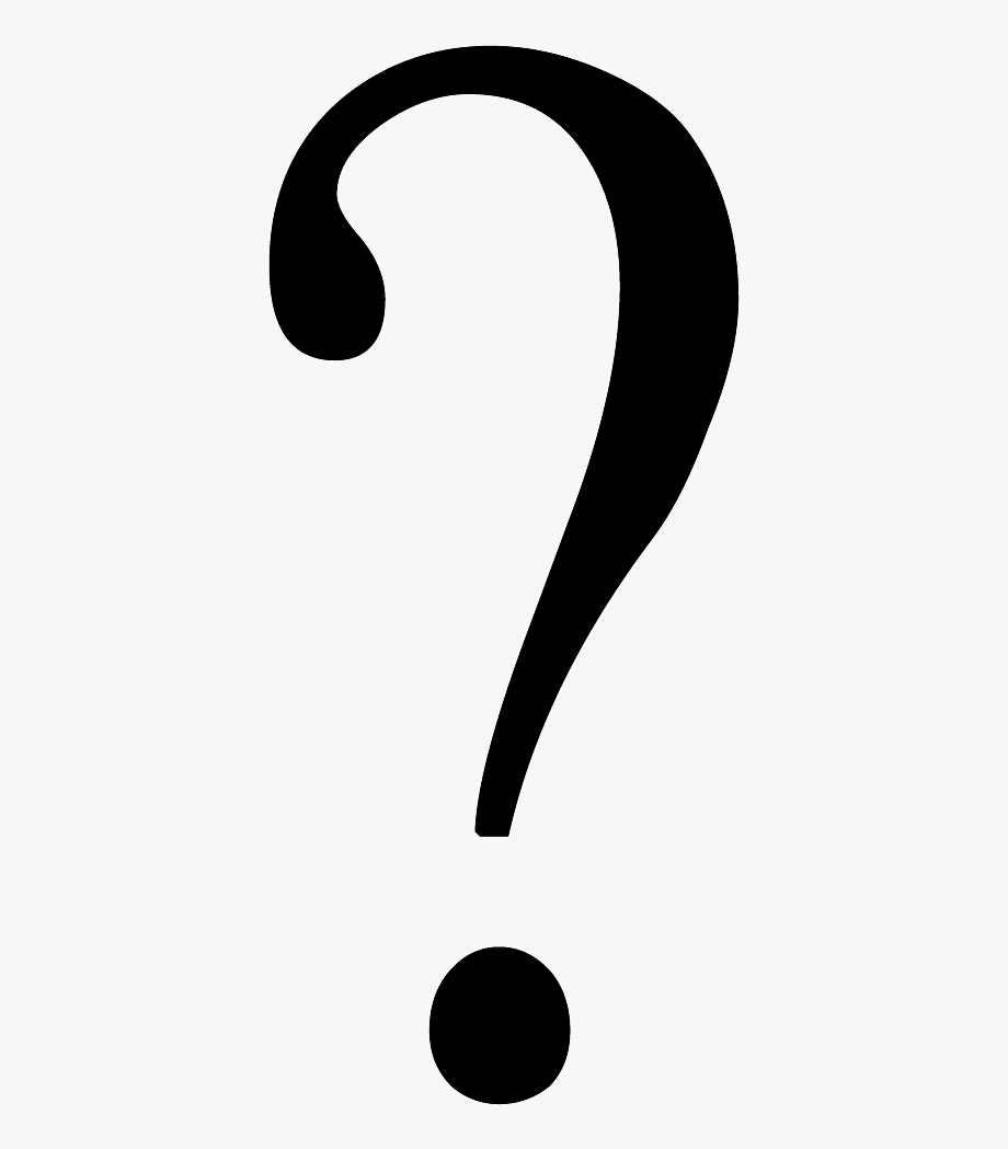 Question Mark Clipart Transparent Background.