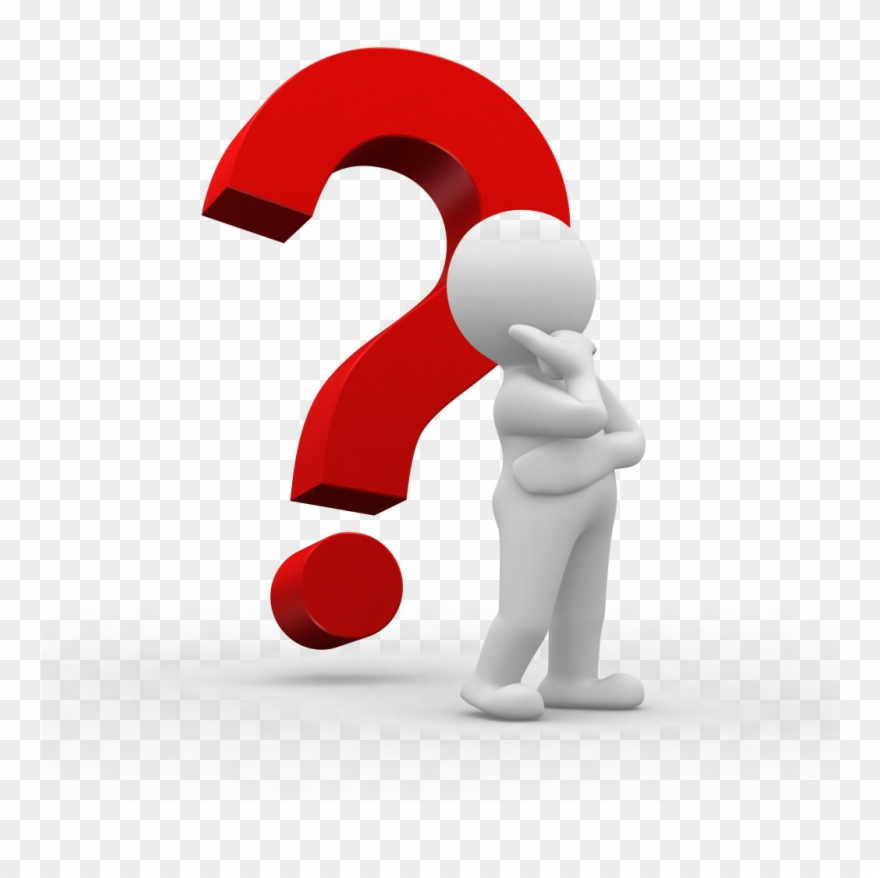 Person Thinking With Question Mark Clipart (#43970).