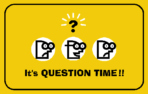 Question time clipart.