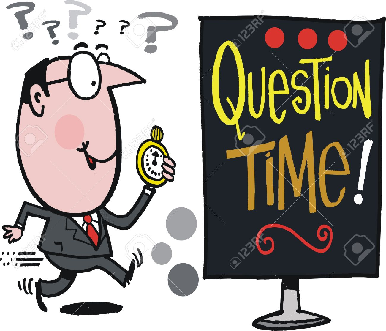 1,865 Question Time Stock Illustrations, Cliparts And Royalty Free.