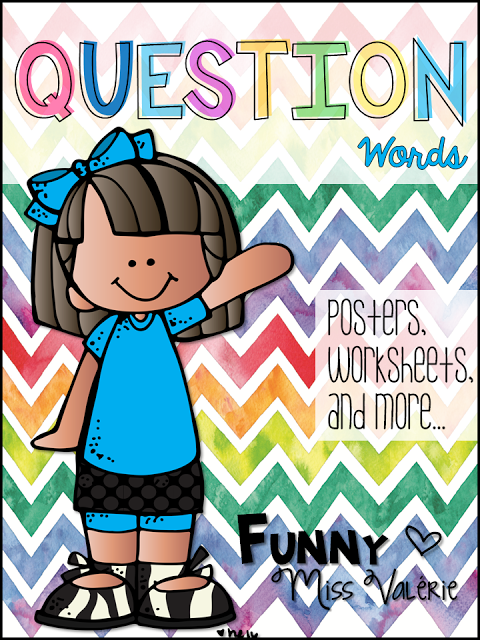 Funny Miss Valérie: Question Words.