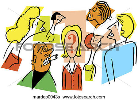 Stock Illustration of Questionable Identity mardep0043s.