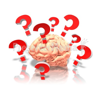 Brain With Questions.