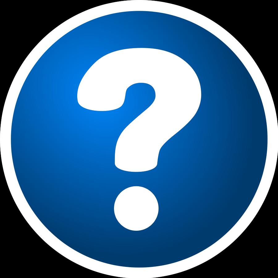 Question Mark Clip Art.