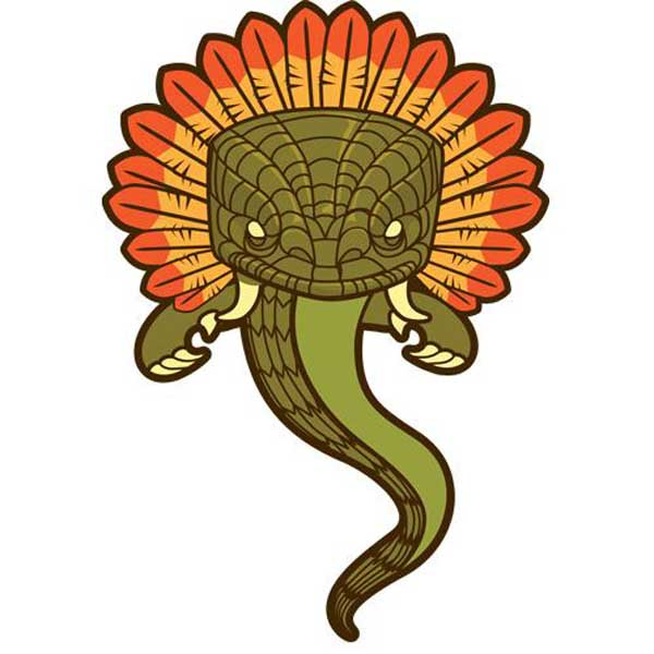 Quetzalcoatl Clip Art.