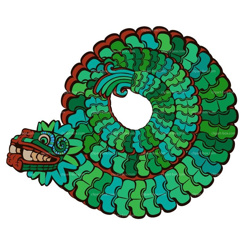 Quetzalcoatl Clipart.