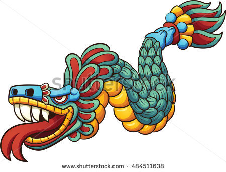 Quetzalcoatl Stock Photos, Royalty.