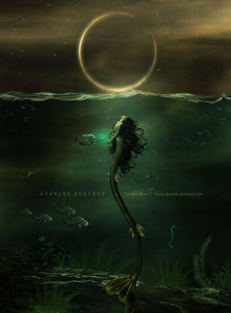 The Dark Siren by Carlos.