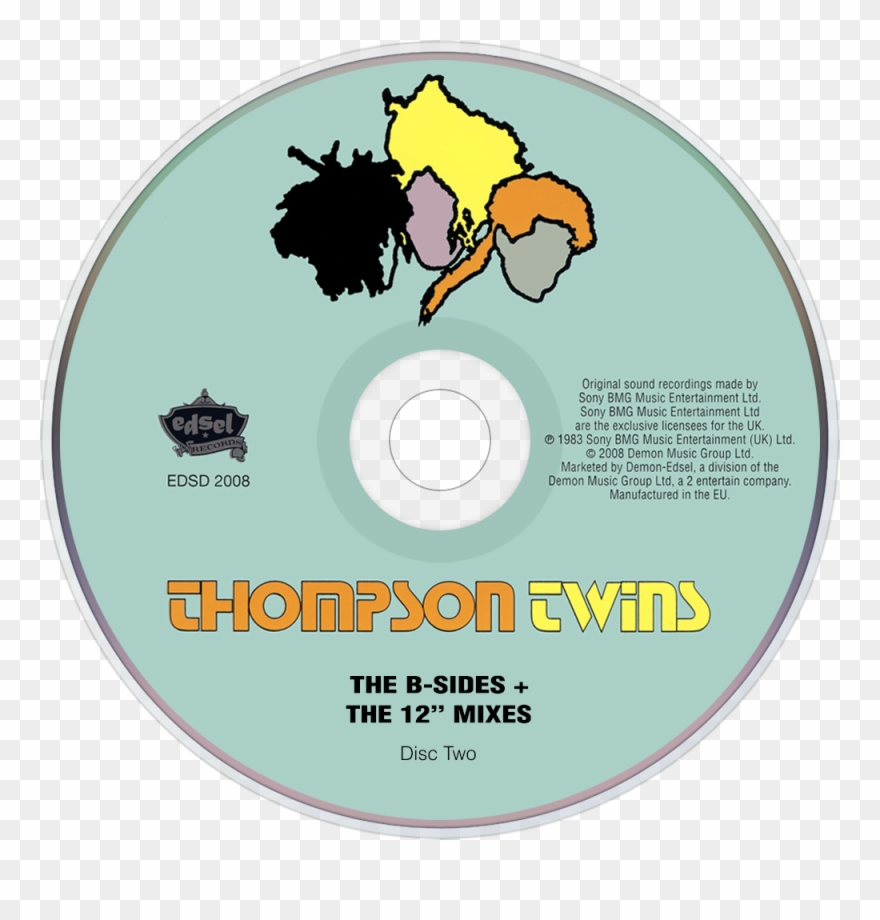 Thompson Twins Quick Step & Side Kick Cd Disc Image.