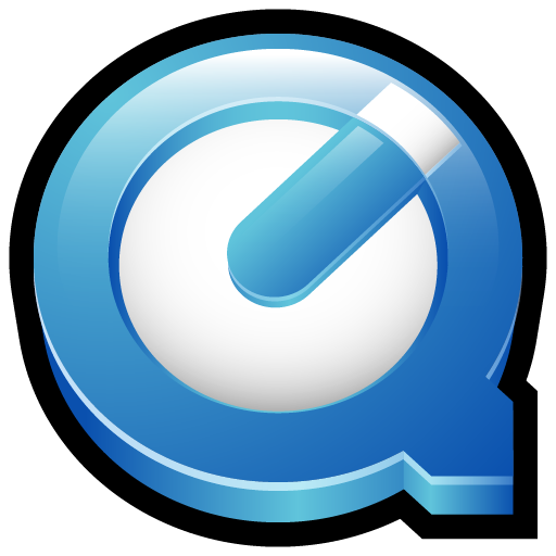 Quicktime Player Button Icon, PNG ClipArt Image.