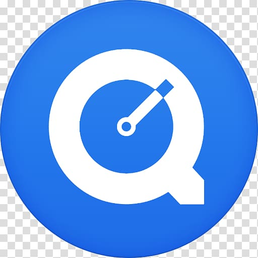 Blue area symbol , Quicktime transparent background PNG.