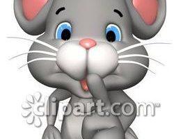 Quiet as a mouse clipart 3 » Clipart Portal.