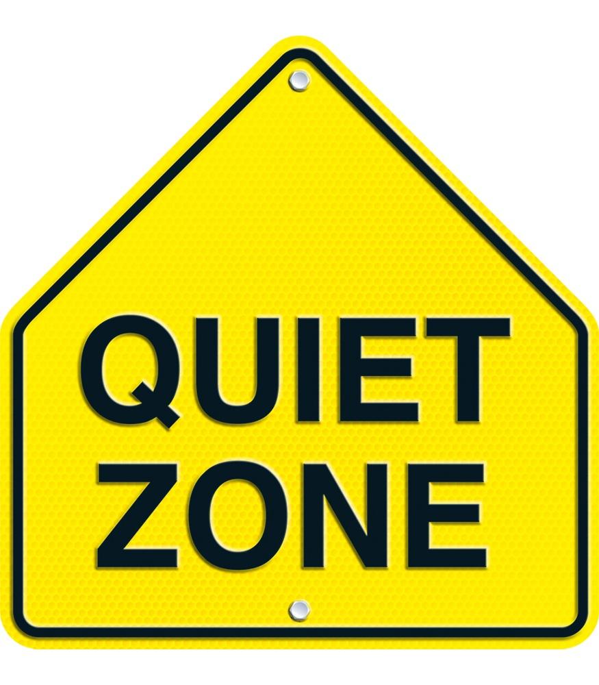 Quiet Please Sign.