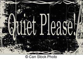 Quiet please Vector Clip Art Illustrations. 157 Quiet please.
