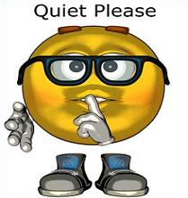 Quiet Please Clip Art Pictures to Pin on Pinterest.