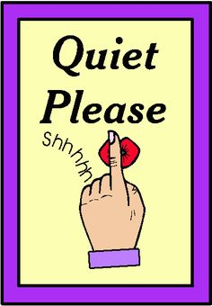 Printable Quiet Please Sign PDF free Download For Signboards.
