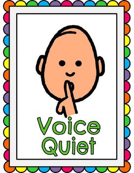 Voice clipart quiet signal.