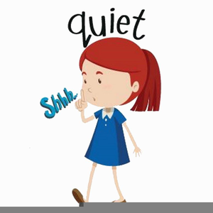 Quiet Time Clipart.