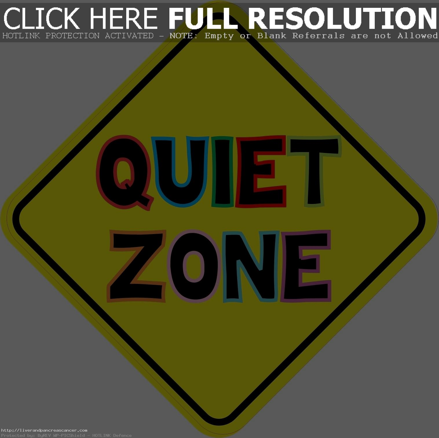 Quiet clipart 4 » Clipart Station.