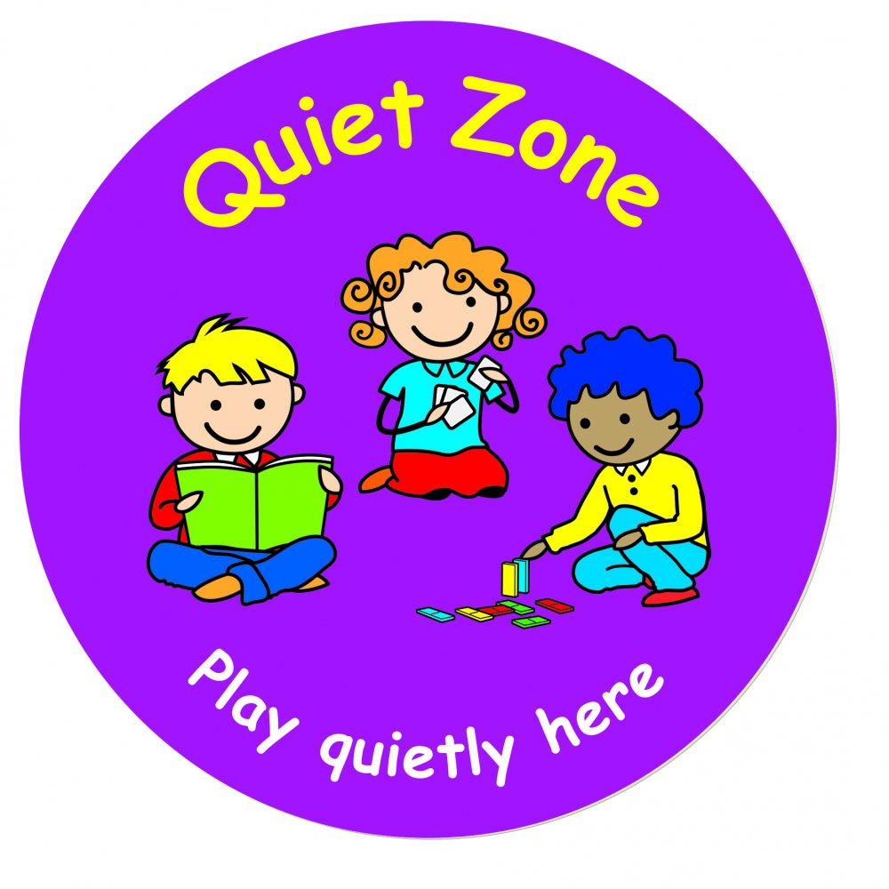 Quiet Zone Signs Clip Art N8 free image.