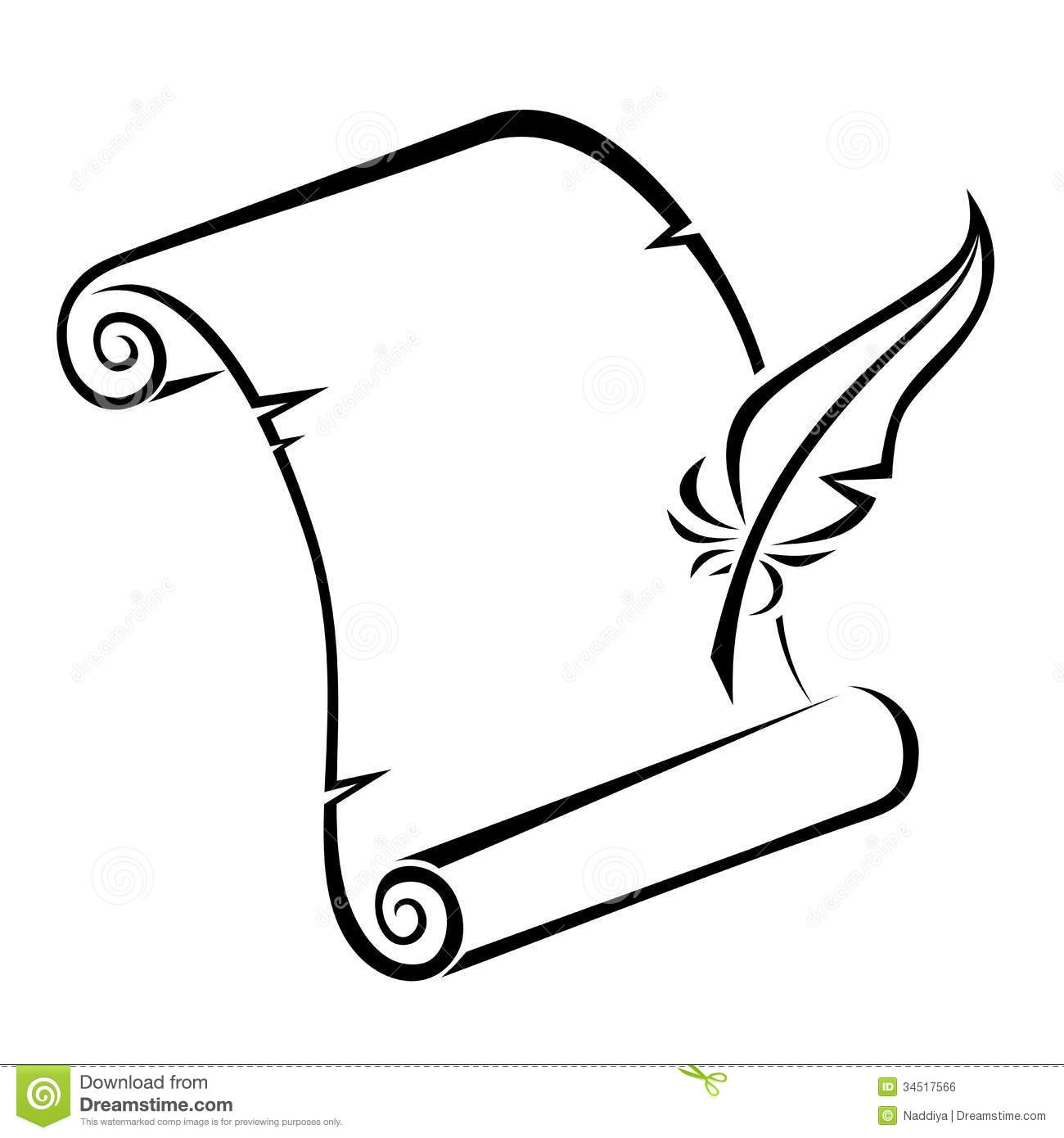 Collection of Quill clipart.