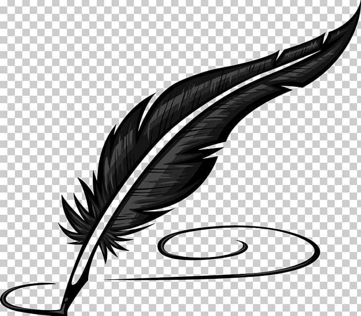 Paper Quill Pen Inkwell PNG, Clipart, Ballpoint Pen, Black.