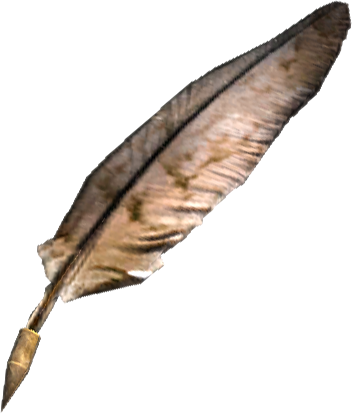 Download Free png File:TESV Misc Quill.png.
