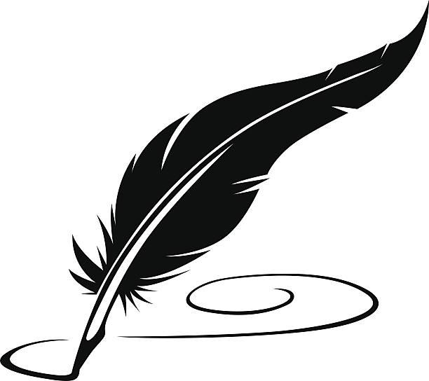 Quill Pen Clip Art, Vector Images & Illustrations.