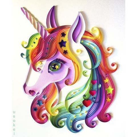 Image result for unicorn face watercolor clipart.